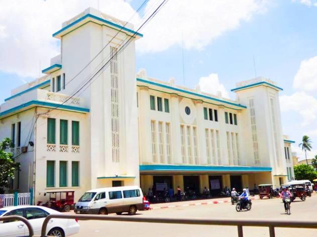 Viaggiare in treno in Cambogia - Stazione Ferroviaria (Esterno)