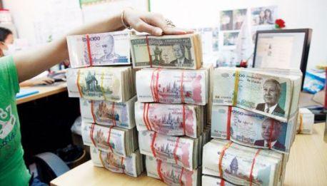 Cambiare soldi e Cambiavalute in Cambogia